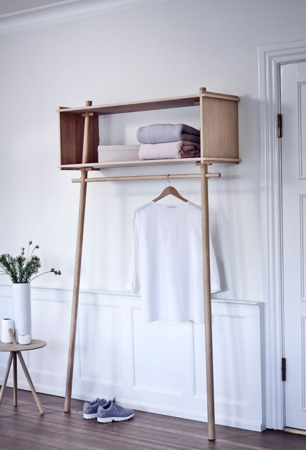 Design Garderobe Diy How To Build A Wooden Garment Rack - Woodworking Projects