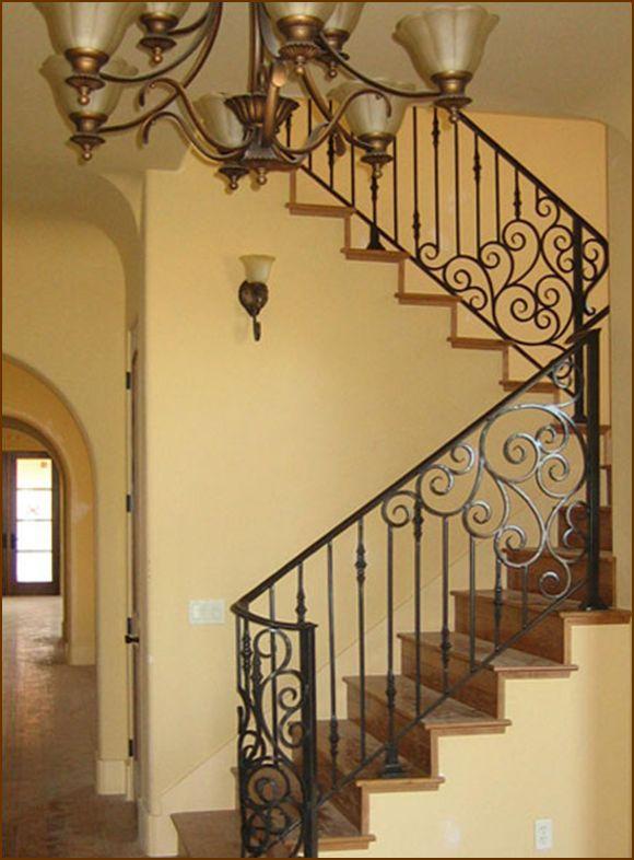 Best 25+ Iron stair railing ideas on Pinterest
