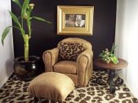 Leopard print decor living room | Barbie Doll House ...