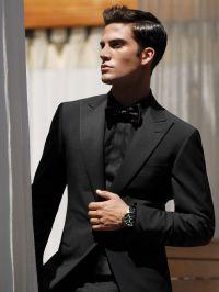 25+ best ideas about Black suits on Pinterest | Black suit ...