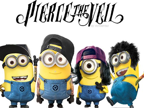 Minions Bettwäsche Kik 67 Best Images About Pierce The Veil On Pinterest