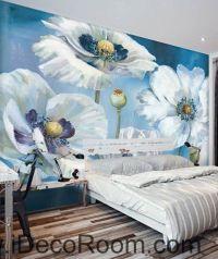 25+ best ideas about Flower Mural on Pinterest | Mural ...