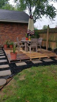 25+ best ideas about Pallet patio on Pinterest
