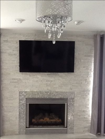 17 Best images about Fireplace ideas on Pinterest | Faux stone fireplaces, Fireplace tiles and ...