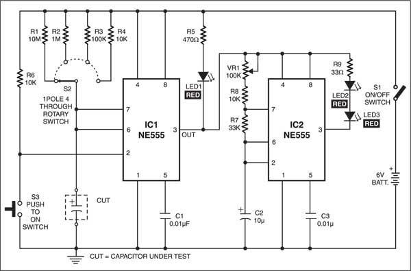 cool electronics circuits transistor tester