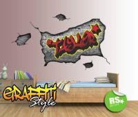 17 Best ideas about Graffiti Bedroom on Pinterest
