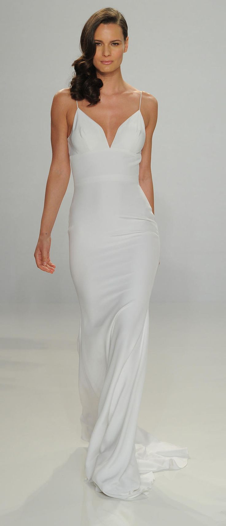 slip wedding dress dress for a wedding Christian Siriano Shows Fanciful French Inspired Wedding Dresses for Spring