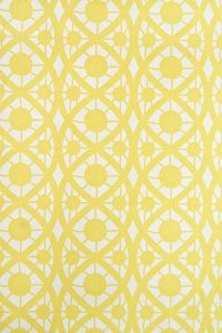 Lace Wallpaper Small design white wallpaper with yellow