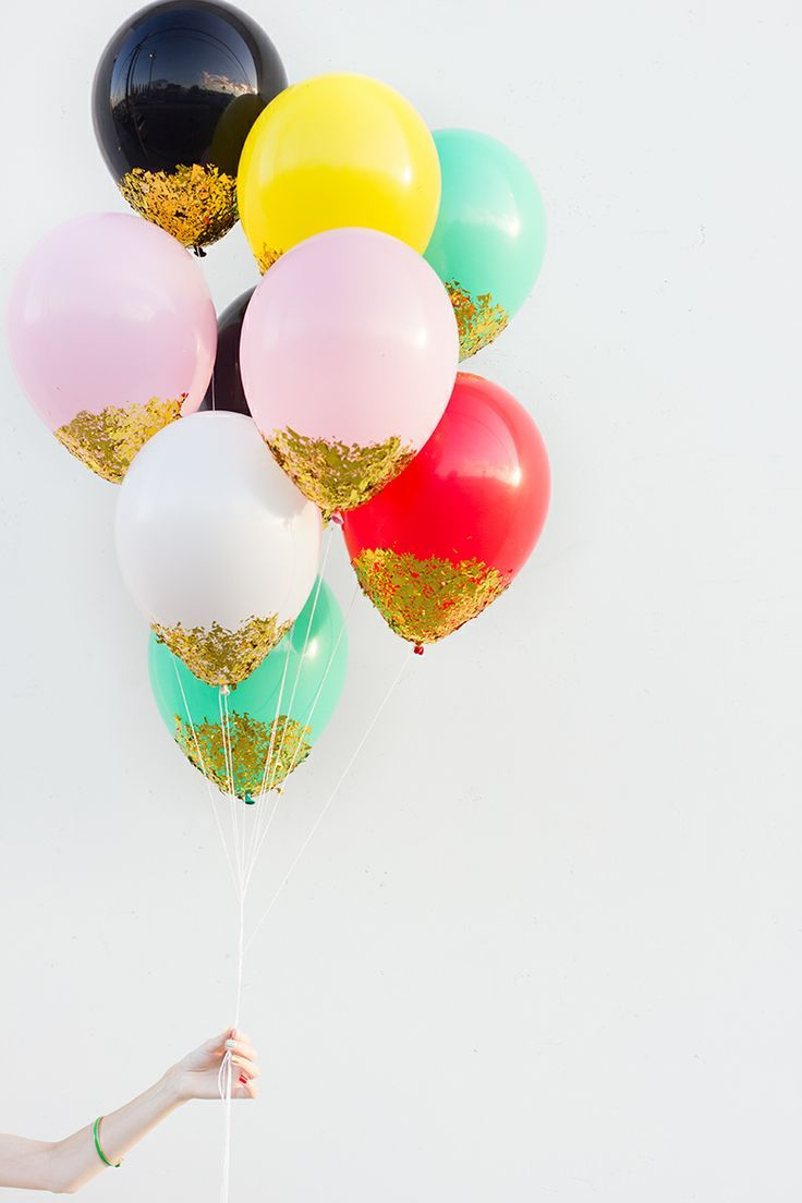 Bowling pin balloons - Bowling Pin Balloons Diy Confetti Dipped Balloons Download