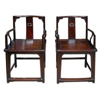 Chinese Ming Style Chairs, 18th Century | Armchairs ...