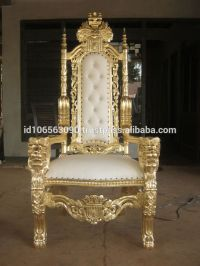 The Kings Chair - Throne - Queen And King Chair - Buy ...