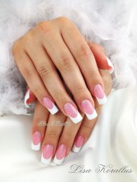 17 Best ideas about White Gel Nails on Pinterest   Gold ...
