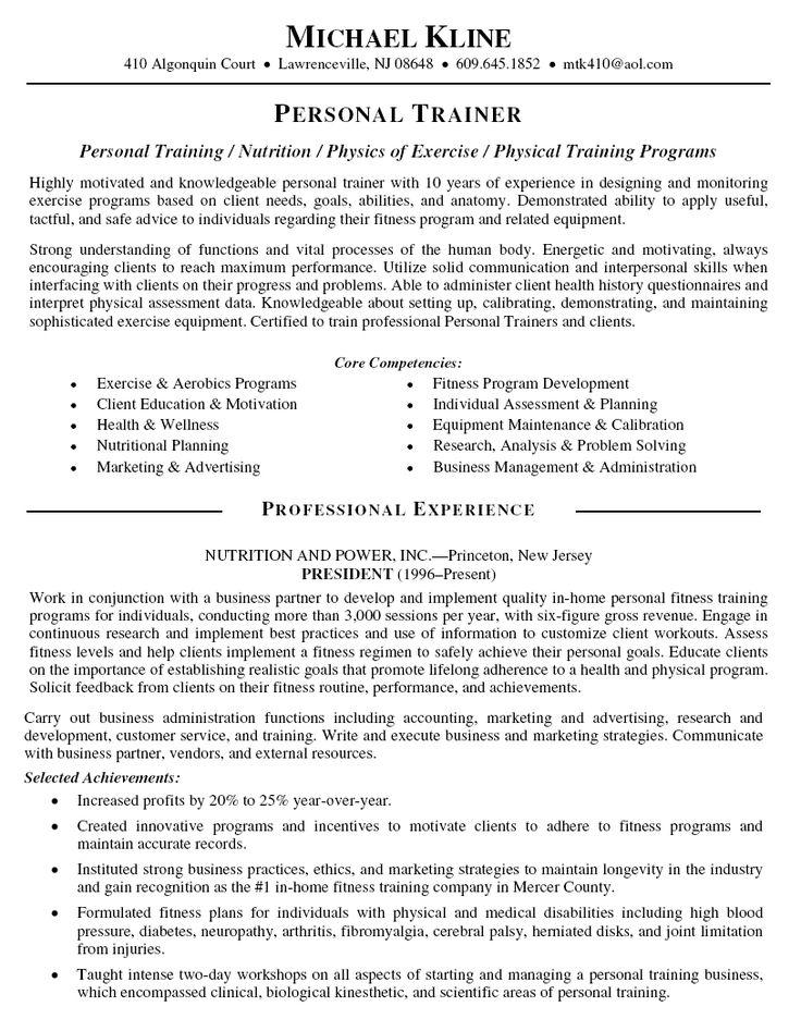 Online Trainer Sample Resume Resume Objective Examples Training - marketing objective example