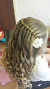 1000+ ideas about Flower Girl Hairstyles on Pinterest ...