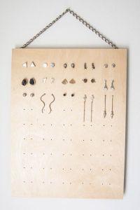 25+ best ideas about Stud Earring Organizer on Pinterest ...