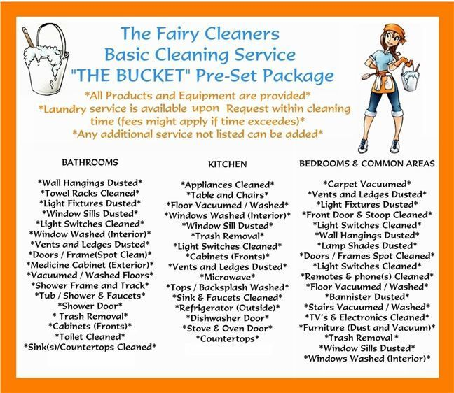 names for cleaning service business