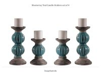 1000+ ideas about Teal Candle Holders on Pinterest | Teal ...
