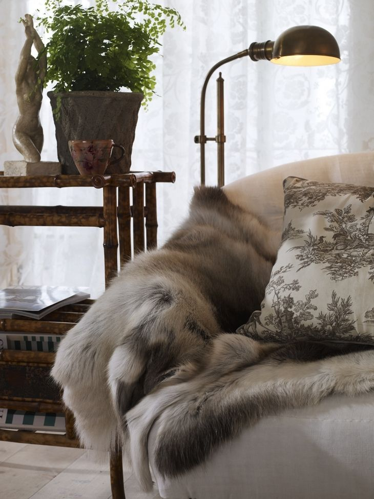 17 Best Images About Decorating With Fur On Pinterest