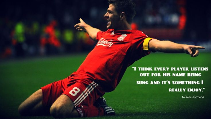 Steven Gerrard Quotes Wallpaper Glory Sports Quotes Pinterest Teaching Sport