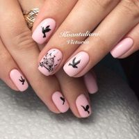 Best 25+ Bird Nail Art ideas on Pinterest | Feather nail ...