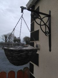 25+ best ideas about Hanging basket brackets on Pinterest ...