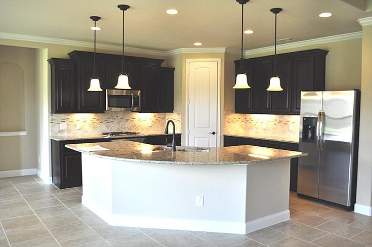 L Shaped Kitchen Base Cabinet Gourmet Kitchen Boasts Beautiful Granite Counter Tops