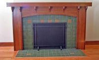 1000+ images about Craftsman Fireplace Mantels on ...