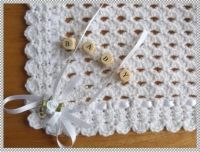 Free Crochet Christening Blanket Patterns | Details about ...
