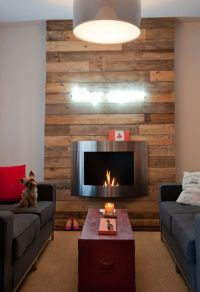 Paneled fireplace surround   Wood Paneling.   Pinterest ...