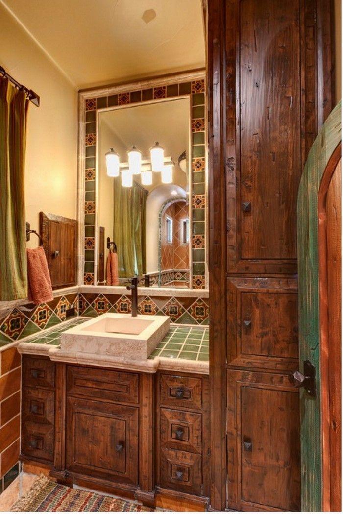 1000+ ideas about Spanish Style Bathrooms on Pinterest