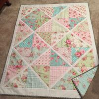 49 best images about Patchwork Shabby Chic Quilt on ...