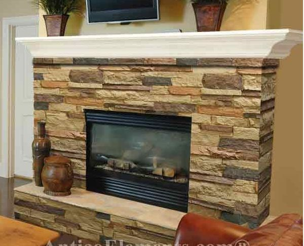 Airstone Lowes Airstone Fireplace - Google Search | New House