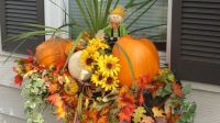 decorating window boxes for fall | My Fall window boxes ...