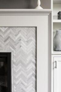 25+ best ideas about Herringbone fireplace on Pinterest ...