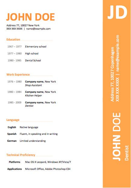 Free Resume Templates For Word Download Quick Resume Builder Free - resume download free word format