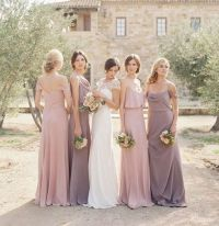 25+ best ideas about Neutral Bridesmaid Dresses on ...