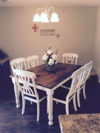 25+ best ideas about Refurbished kitchen tables on ...