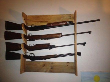 Simple Gun Rack Pallet Designs Pinterest Simple