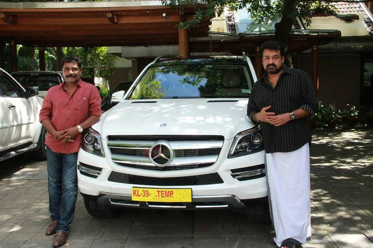 Asif Ali Hd Wallpapers Mohanlal With His Mercedes Benz Gl 350 1616 Malayalam