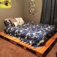 Best 25+ Pallet platform bed ideas on Pinterest | Diy bed ...