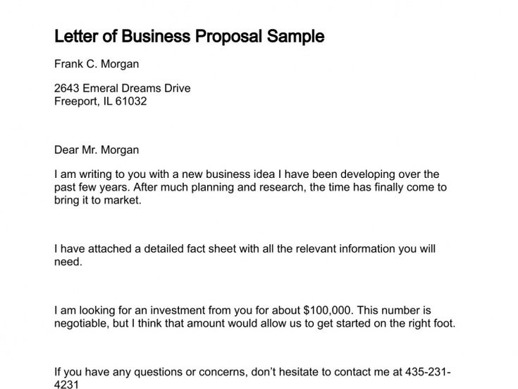 ... Business Proposal Letter Business Proposal Rejection Letter In   Partnership  Proposals Template ...