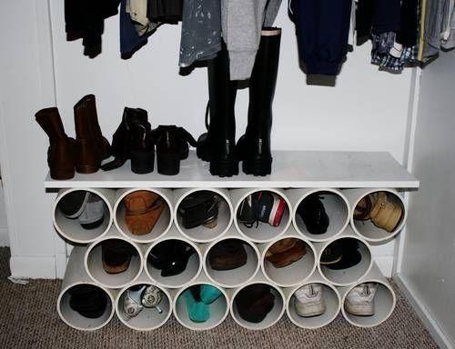 Pvc Pipe Shoe Storage Diy 28 Images 20 Diy Shoe