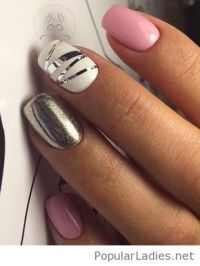 17 Best ideas about Grey Nail Designs on Pinterest | Fun ...