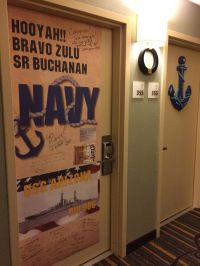 17 Best images about PIR Navy Graduation Hotel Door ...
