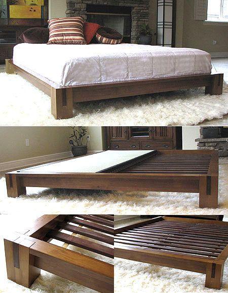 Tatamiroomcom Tatami Platform Bed Honey Oak 000