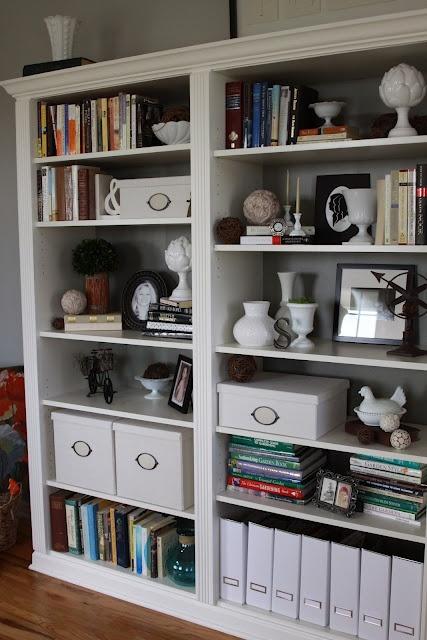 Ikea Billy Bookcases Made To Look Like Custom Shelving