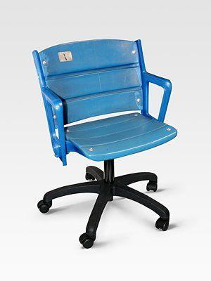 Steiner Sports Authentic Yankee Stadium Seat Office Chair