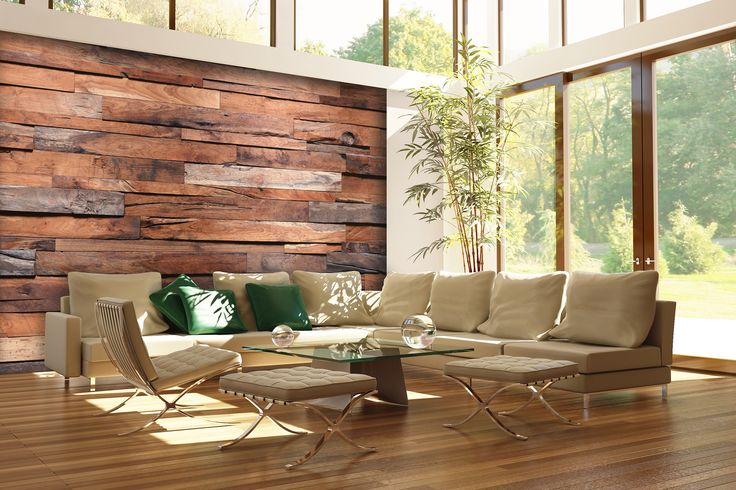 3d Peel And Stick Brick Wallpaper Reclaimed Rustic Wood Wall Mural Wallpaper Facebook