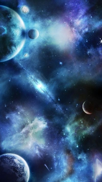 Fantasy World: Universe Planet HD iPhone 6+ Wallpaper - http://helpyourselfimages.com/portfolio ...