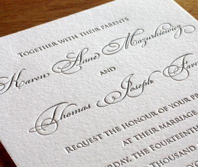 1000+ ideas about Wedding Invitation Fonts on Pinterest ...